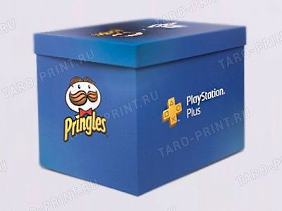Коробка для PlayStation PRINGLES